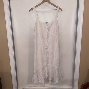 Gorgeous Anthropologie White Dress